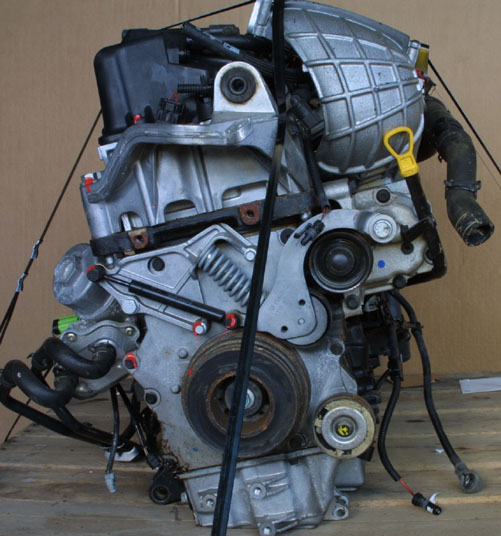 The Mini Cooper S Engine